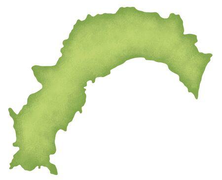 shikoku: Kochi Prefecture map