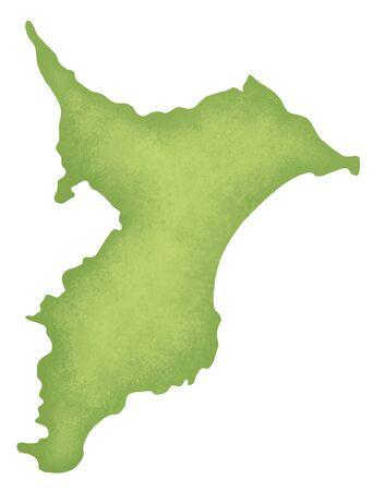 kanto: Chiba Prefecture map