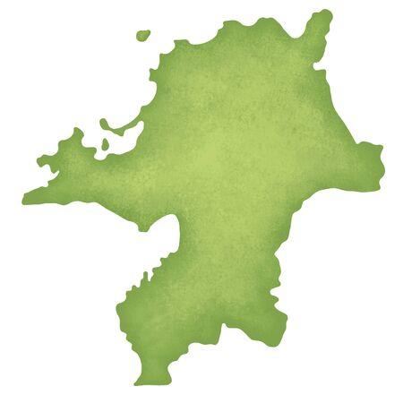 kyushu: Fukuoka Prefecture map