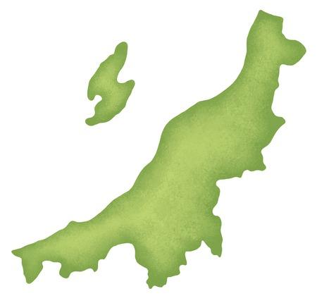 Niigata Prefecture map