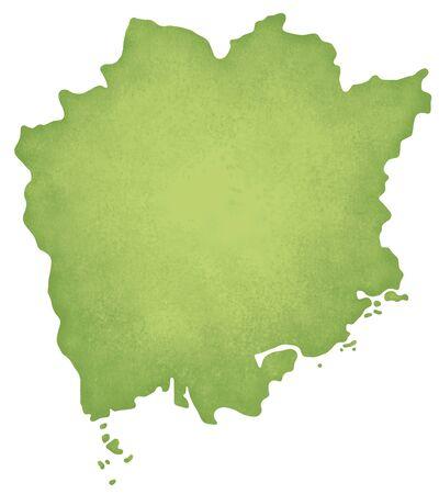 prefecture: Okayama Prefecture map
