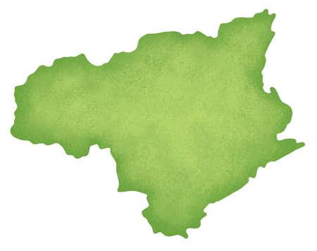 shikoku: Tokushima Prefecture map