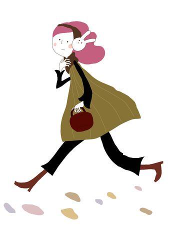 warmer: Usa Mimi walk
