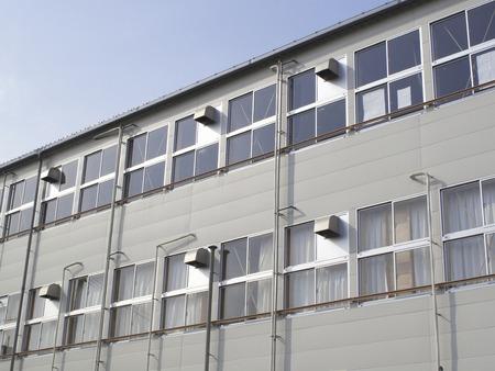prefab: Bunkhouse of civil engineering construction site