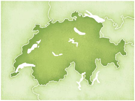 foreign nation: Swiss Map