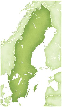 peninsula: Sweden Map