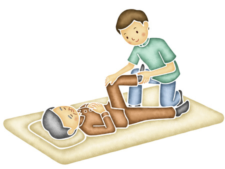 masseur: Rehabilitation massage