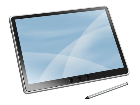 pc: Tablet PC Stock Photo