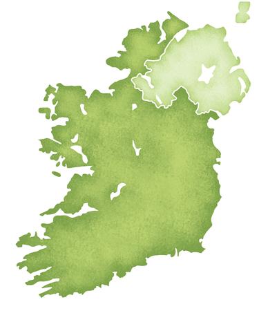 ireland: Ireland Map