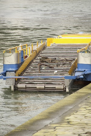 garbage collection: River floating garbage collection vessels