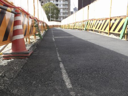 extraordinary: Extraordinary sidewalk in road construction