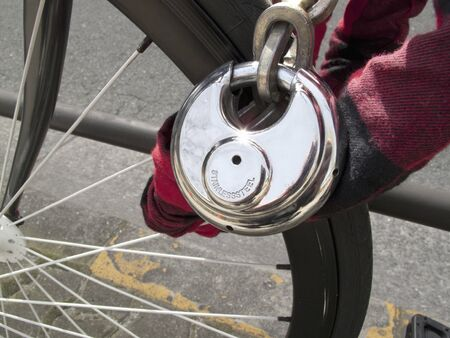 theft prevention: The key to bicycle theft prevention