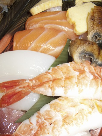 rawness: Sushi pack containing