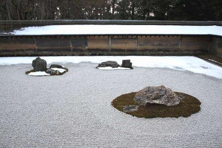 hojo: Ryoanji Temple rock garden