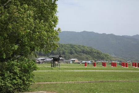 藤原京のサイト 写真素材