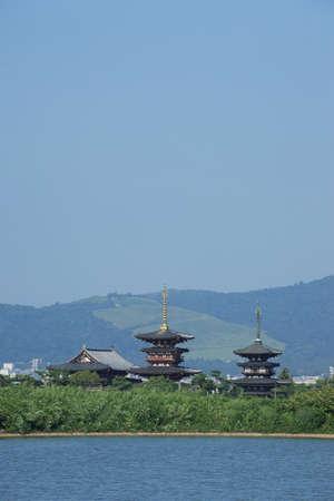 distant spot: Yakushi-ji Temple