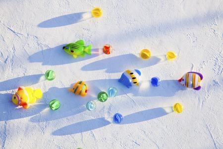 ball lump: Fish toy and AB lump