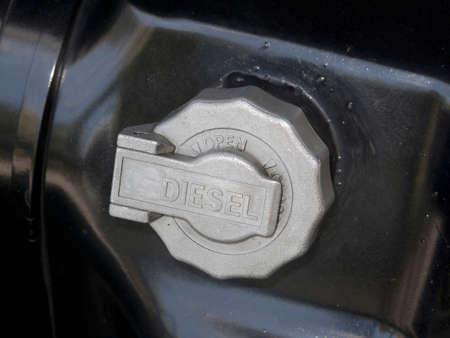 tanque de combustible: Depósito de combustible del camión