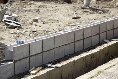 concrete block: Load the concrete block