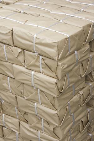 printed matter: Shipment waiting stack of printed matters