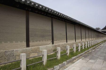 Horyuji earthen wall