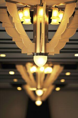 アールデコのランプ