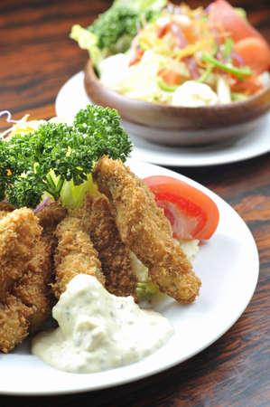 fried foods: Fried foods