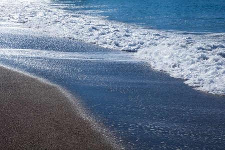 sandy beaches: Sandy beaches and waves