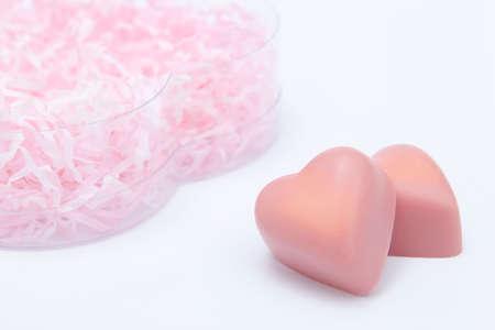 heartshaped: Heartshaped chocolate