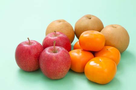 gustatory: Autumn fruit Stock Photo