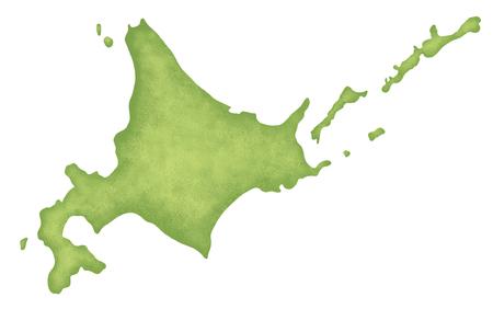 hokkaido: Hokkaido map