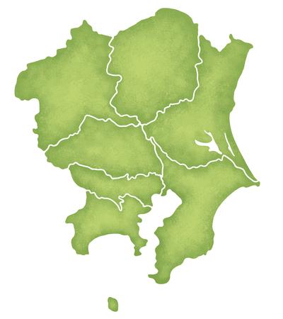kanto: Kanto map