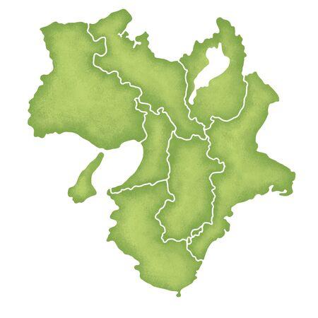 Kinki map