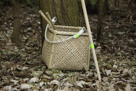 落ち葉をきれいにするツール