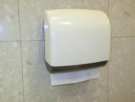 Paper towel toilet