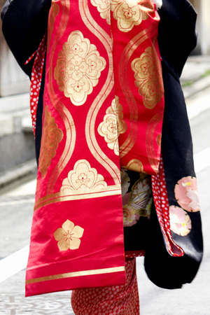 loosely: Loose geisha dressing