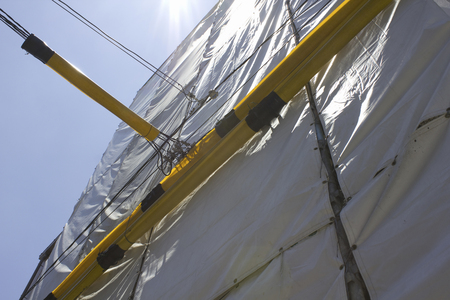 leakage: Leakage prevention cover of the electric wires of the building construction site