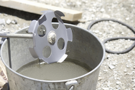 stirrer: Cement stirrer