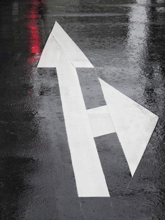 be wet: Wet asphalt