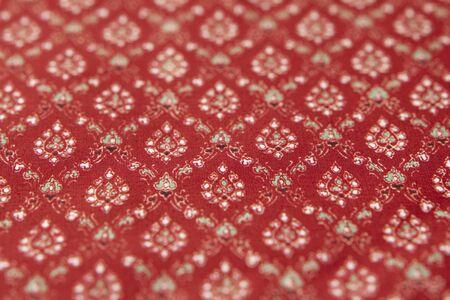luncheon: Luncheon mat of Thai-style pattern Stock Photo