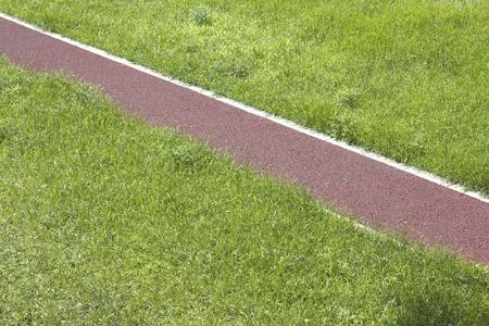 permeability: Sidewalk with rain water permeability Stock Photo