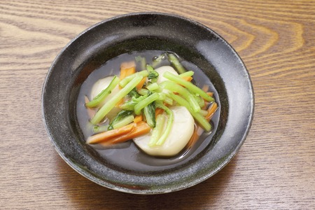 boiled: Sauce of boiled radish