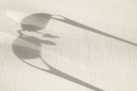 myopia: The shadow of the glasses frame