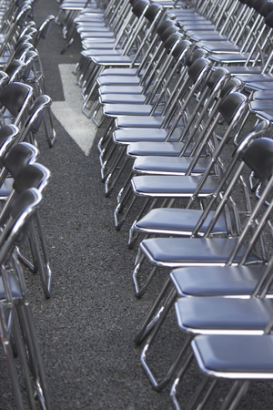 neatness: And plenty of chairs lined up