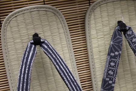 sandalias: De cuero con suela de las sandalias de los hombres Foto de archivo