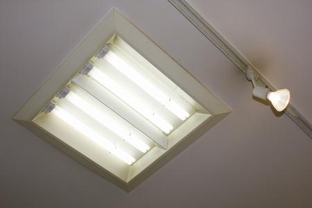halogen: Indoor fluorescent lamps and halogen lamps