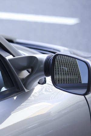 to mirror: Sports car side mirror