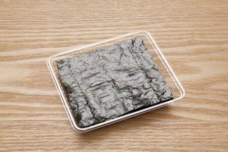 seasoned: Japanese-style seasoned laver Stock Photo