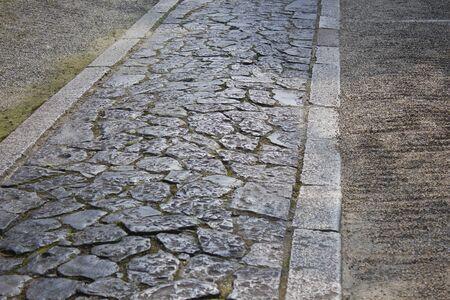 fill fill in: Sidewalk stone