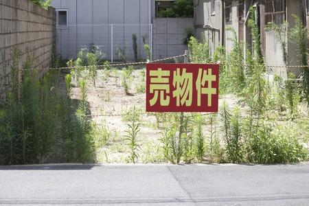 For sale of land 版權商用圖片